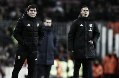 Sensaciones de Marcelino tras la derrota por la mínima en la Ida de la Copa del Rey