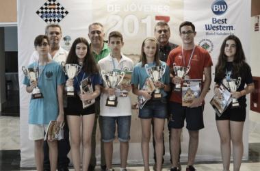Lance Henderson doble campeón de España sub 14