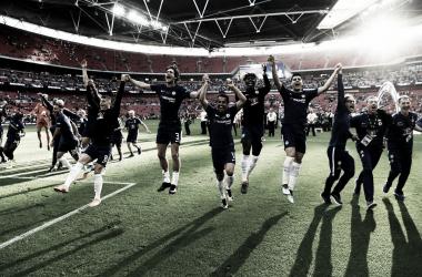 Eden Hazard le da la FA Cup al Chelsea