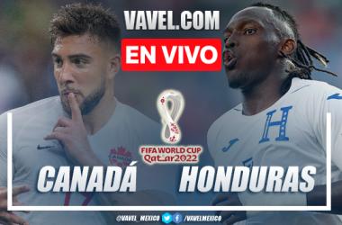 Goles y resumen del Canadá 1-1 Honduras en Eliminatorias Qatar 2022