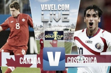 Score Canada - Costa Rica in Gold Cup 2015 (0-0)