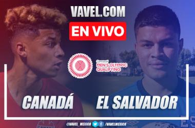Goles y Resumen del Canada 2-0 El Salvador en Preolímpico CONCACAF 2021