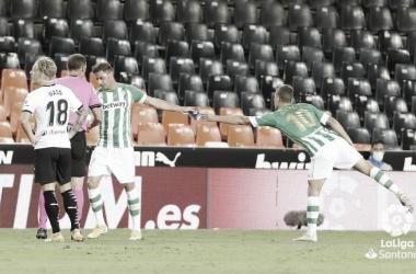 El Real Betis, dependiente de Sergio Canales