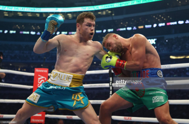 Saul 'Canelo' Alvarez forces Billy Joe Saunders to withdraw after an eighth-round stoppage