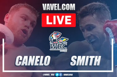 Highlights and best momentos of Canelo Alvarez's victory over Callum Smith in Box 2020
