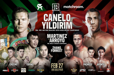 Canelo vs Yildirim: Matchroom Boxing Preview
