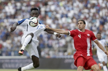 Canada and Honduras both advance to the quarterfinals. | Source: Arnulfo Franco