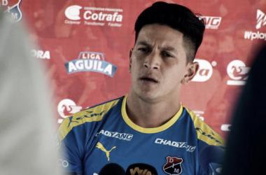 Germán Cano valoró la victoria del DIM frente al América en condición de visitante | Fotografía: Gol Caracol