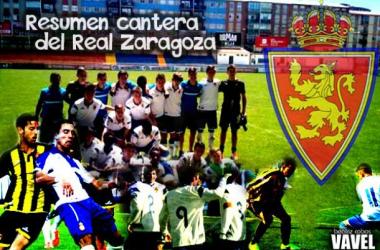 Resumen categorías inferiores del Real Zaragoza: 31 enero - 1 febrero (Montaje: Beatriz Cobos | VAVEL).