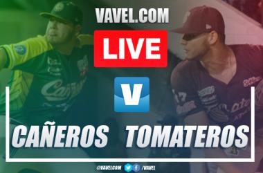 Runs and Highlights: Tomateros de Culiacán (0-4) Cañeros de Los Mochis, 2020 Playoffs LMP Game 4 Semifinal