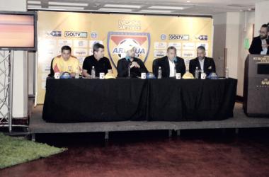 El Aragua FC presentó oficialmente la plantilla de cara el torneo apertura 2017/ Foto: Jordan Hernandez- Prensa Aragua FC