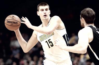Nikola Jokic - Fonte immagine: www.twitter.com/NBA