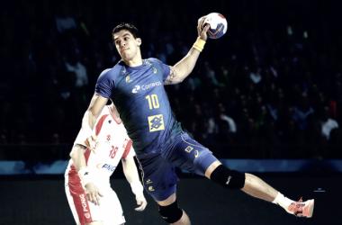 Zé Guilherme foi destaque da partida com 8 gols (Foto: Divulgação)