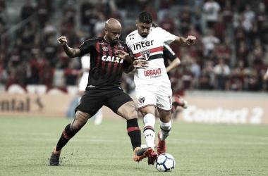 Por vaga nas oitavas, São Paulo e Atlético-PR se enfrentam pela Copa do Brasil