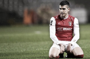 Battaglia vai jogar de verde e branco na próxima temporada //Foto: Hugo Delgado / desporto.sapo.pt