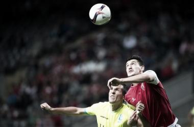 O Braga não conseguiu chegar mais longe do que um empate // Foto: Facebook do SC Braga