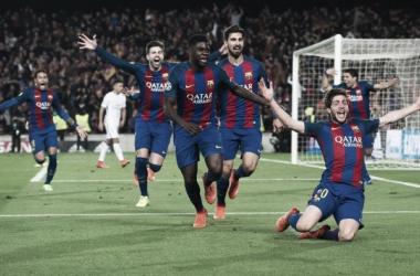 O Barcelona protagonizou uma das reviravoltas mais épicas da História do futebol // Foto: Facebook do FC Barcelona