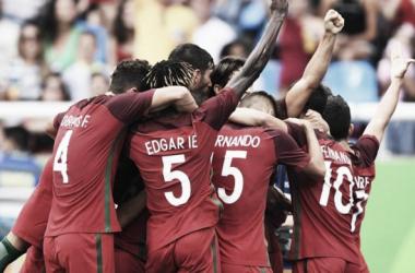 Portugal festejou esta noite a 2ª vitória nos Jogos Olímpicos // Foto: Facebook Seleções de Portugal