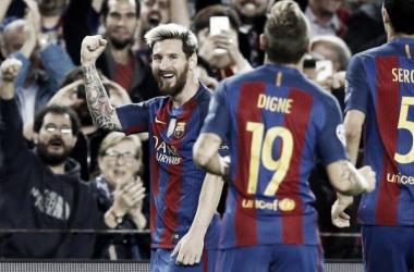Messi, o extra-terrestre // Foto: FC Barcelona