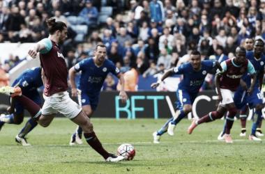 O Leicester conseguiu o empate ao cair do pano // Foto: Facebook do West Ham United FC