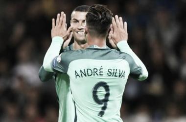 Estes dois jogadores já valeram 17 golos à Seleção na qualificação para o Mundia // Fonte: Meu Madrid