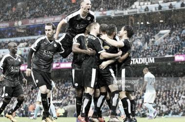 O Leicester City conquistou o título inglês pela primeira vez