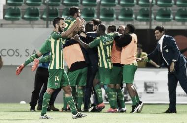 O Tondela conquistou a primeira vitória da Liga NOS 2016/2017 // Foto: Facebook do CD Tondela