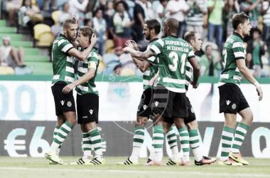 O Sporting venceu o primeiro troféu da pré-época // Foto: Facebook do Sporting CP