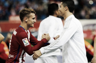 Cristiano Ronaldo e Griezmann, qual dos dois craques triunfará? // Foto:le10sport.com