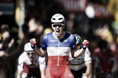 Primeira vitória na Volta a França para Démare // Fonte: Eurosport