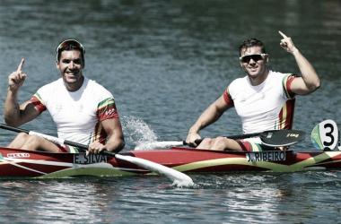 A dupla conquistou o 4º lugar // Foto:António Cotrim/Lusa