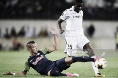 Liga Europa: Vitória empatado pelo Salzburgo 1-1