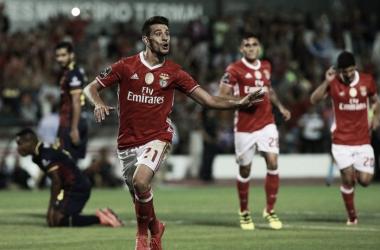 Pizzi tem sido decisivo nas águias, e voltou a sê-lo na partida frente ao Chaves // Foto: Facebook do SL Benfica
