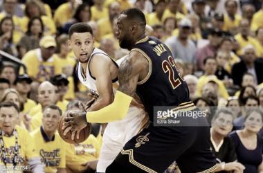 Warriors venceram o primeiro jogo da final de NBA