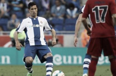 Capdevila juega su último partido con el Espanyol