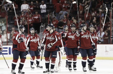 The Capitals saluted their fans during their historic regular season | Geoff Burke - USA TODAY Sports