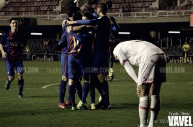 El Barça B buscará los tres puntos para seguir siendo líder | Foto VAVEL: Noelia Déniz