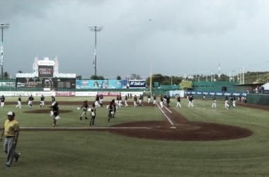 Por mal tiempo, hubo doble cartelera hoy en Campeche | Foto: Luis Euán Hau