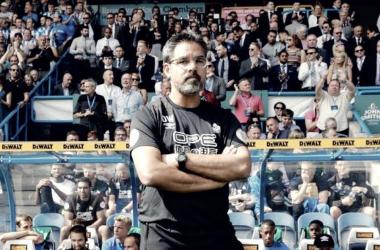 David Wagner en el área técnica / Foto: Huddersfield FC