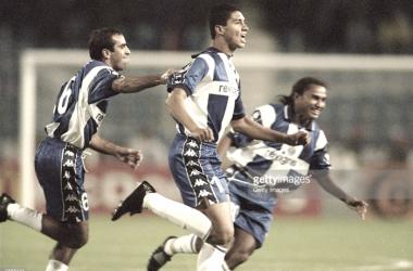 Mário Jardel esteve no 11 do Porto contra o Beira Mar, quando venceram por 7-0