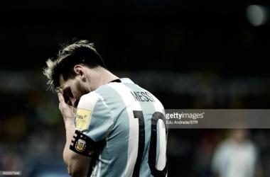 Lionel Messi ao serviço da Seleção Argentina