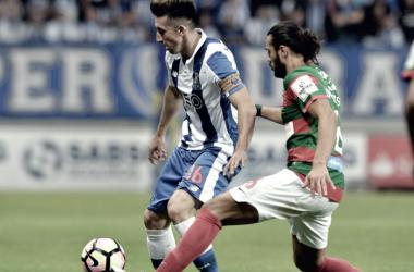 Herrera chegou aos 100 jogos frente ao Marítimo // Foto: Facebook do FC Porto