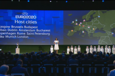 Bilbao convence a la UEFA y será sede de la Eurocopa 2020