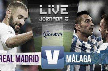 Resultado Real Madrid - Málaga en la Liga BBVA 2015 (0-0)