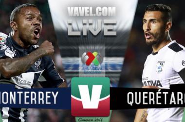 Resultado Monterrey - Querétaro de la Liga Mx (3-2)