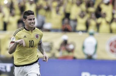 Repaso de los madridistas: James salva a Colombia