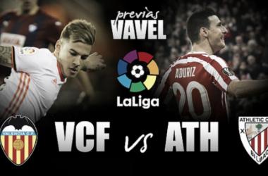 Previa Valencia CF - Athletic Club: mantener el nivel