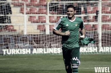 Joaquín Sánchez, jugador del Real Betis | Foto: Juan Ignacio Lechuga - VAVEL