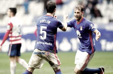 La defensa más goleadora de Segunda | Imagen: Real Oviedo