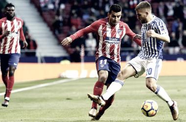Los anteriores Real Sociedad - Atlético de Madrid en Anoeta